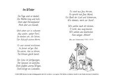 Gedichte 4 5 strophen