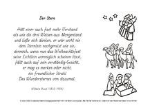 Weihnachtsgedichte Von Wilhelm Busch.M Wenn Ich Dereinst Busch Ausmalbilder Werkstatt Gedichte
