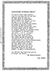 Gedicht knecht ruprecht englisch