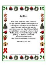 Weihnachtsgedichte Von Wilhelm Busch.Wilhelm Busch In Der Grundschule Deutsch Unterrichtsmaterial
