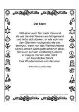Wilhelm Busch Weihnachtsgedichte.Wilhelm Busch In Der Grundschule Deutsch Unterrichtsmaterial