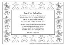 schmuckrahmen arbeitsblatt in der grundschule gedichte. Black Bedroom Furniture Sets. Home Design Ideas