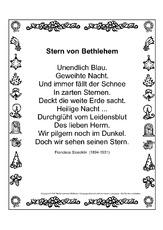 Weihnachtsgedichte deutsch englisch