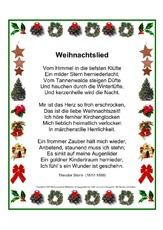 Theodor storm weihnachtsgedichte