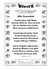 wintergedicht f r werkstattarbeit in der grundschule. Black Bedroom Furniture Sets. Home Design Ideas