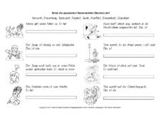 abstrakte Namenwörter in der Grundschule - Grundschulmaterial.de