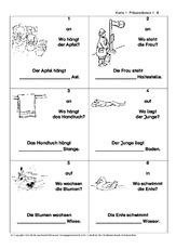 Präpositionen - Grammatik - Deutsch Klasse 3 - Grundschulmaterial.de