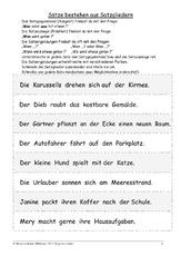 arbeitsblatt in der grundschule deutsch klasse 3. Black Bedroom Furniture Sets. Home Design Ideas