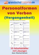 Arbeitsblätter - Verben - Grammatik - Deutsch Klasse 3 ...