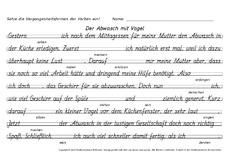 Vergangenheit in der Grundschule - Texte-Vergangenheitsform ...