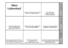 Lebenslauf (Arbeitsblatt) in der Grundschule - Deutsch ...