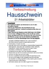 hausschweinpdf - Muster Tierbeschreibung