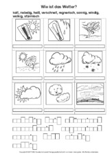 Wörtersuche - Rechtschreibung - Deutsch Klasse 3 - Grundschulmaterial.de