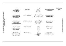 Abc Gedicht 1 Gedichte 1 24 Gedichte Vario Karten