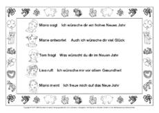 Begleitsatz Arbeitsblatt In Der Grundschule Wörtliche