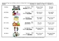 genitiv arbeitsblatt in der grundschule deutsch klasse 4. Black Bedroom Furniture Sets. Home Design Ideas