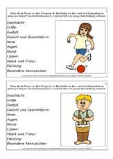 Beschreibung In Der Grundschule Deutsch Klasse 4