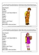 Deutsch Arbeitsmaterialien Merkmale Aufbau 11