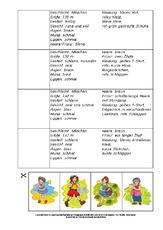 Arbeitsblatt In Der Grundschule Personenbeschreibung