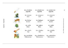 Adj-Steigerung - B-Druck - Adjektive - VARIO-Karten - Deutsch Klasse ...