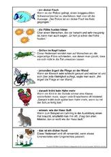 Sprichwort in der Grundschule - tierische Redensarten - Deutsch ...