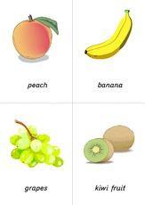 Bildkarten in der grundschule fruit bild wort karten for Raumgestaltung englisch