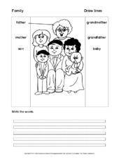 family (Arbeitsblatt) in der Grundschule - Englisch ...