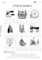 london arbeitsblatt in der grundschule englisch unterrichtsmaterial. Black Bedroom Furniture Sets. Home Design Ideas