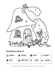 Farben (Arbeitsblatt) in der Grundschule - Englisch ...