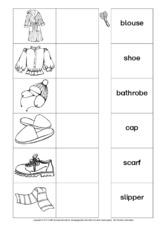 Kleidung bestellen englisch
