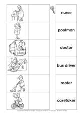 Berufe (Arbeitsblatt) in der Grundschule - Arbeitsblätter - Englisch ...