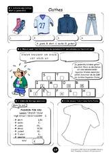 clothes arbeitsblatt in der grundschule arbeitsbl tter englisch klasse 3. Black Bedroom Furniture Sets. Home Design Ideas