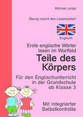 Arbeitsblatt in der Grundschule - Wortfeld-Leseübungen ...