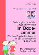 Wortfeld-Leseübungen - Arbeitsblätter - Englisch Klasse 3 ...