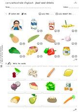 Drinks.pdf >> food and drinks - Arbeitsblätter - Englisch Klasse 3 ...