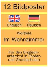 Bildposter Englisch Deutsch Wortfeld Im Wohnzimmer E D Dpdf