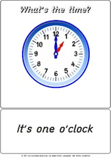 Bildkarte - It's 01 o'clock.pdf