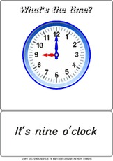 Bildkarte - It's 09 o'clock.pdf