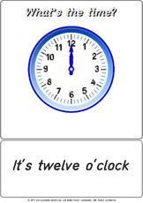 Bildkarte - It's 12 o'clock.pdf