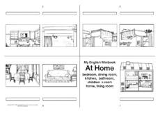 05 w rter at home 1 erste englische w rter arbeitsbl tter englisch klasse 3. Black Bedroom Furniture Sets. Home Design Ideas