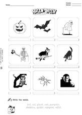 Halloween (Arbeitsblatt) in der Grundschule - Englisch ...