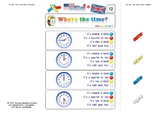 Klammerkarten What's the time 12.pdf