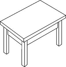 Tisch schule  Schule in der Grundschule - HuS - Unterrichtsmaterial ...
