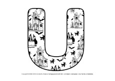 Halloween Buchstaben 3 - DEKO Buchstaben - Halloween - Feste und ...
