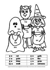 Rechnen-malen-Halloween-1-2 - Rechnen und malen - Arbeitsblätter ...