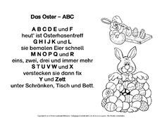 Gedichte Ostern Feste Und Feiertage Hus Klasse 1
