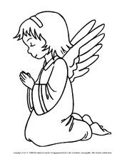 Ausmalbild In Der Grundschule Engel Ausmalbilder Weihnachten