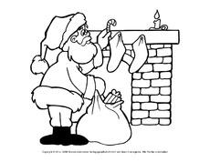Ausmalbild Nikolaus In Der Grundschule Ausmalbilder Weihnachten