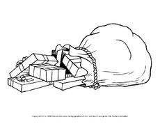 Ausmalbild In Der Grundschule Nikolaus Ausmalbilder