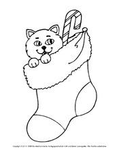 Ausmalbild Nikolausstiefel In Der Grundschule Ausmalbilder